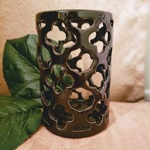 LAST CALL ♡ black ceramic tumbler